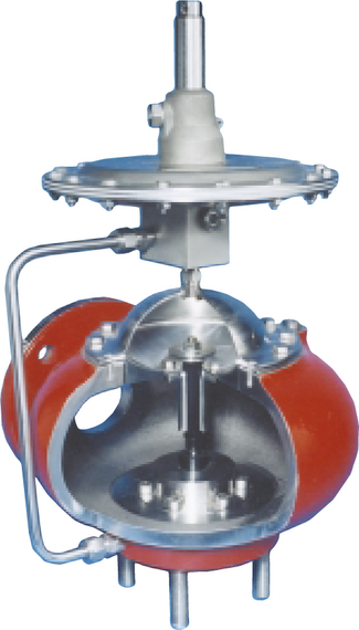 Marvac Model 910 Pilot Operated Pressure Relief - piped vent