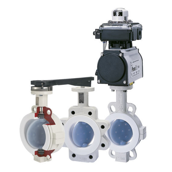 Neotecha NeoSeal Lined Butterfly Valves-FAMILY