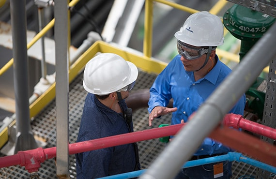 Maintaining pipeline performance and ensuring personnel safety are hallmarks of corporate and social responsibility.